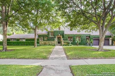 San Antonio Single Family Home New: 220 W Elsmere Pl