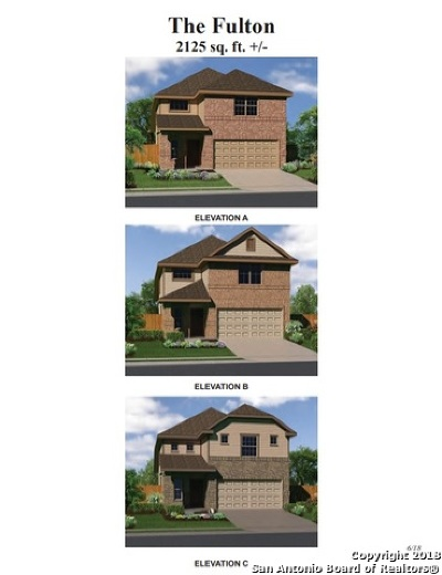 Converse Single Family Home New: 7445 Summer Blossom Court