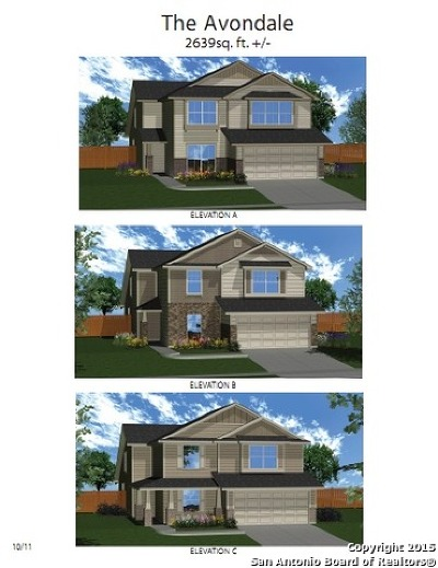 San Antonio Single Family Home New: 6903 Hibiscus Falls