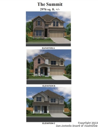 Converse Single Family Home New: 8937 Elizabeth Park