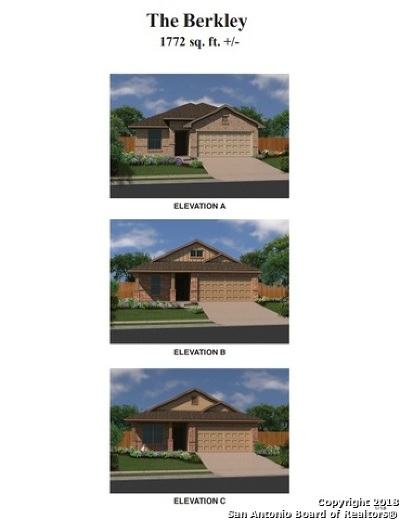 Converse Single Family Home New: 10310 Barbeque Bay