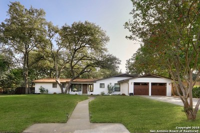 San Antonio Single Family Home New: 326 Cave Ln