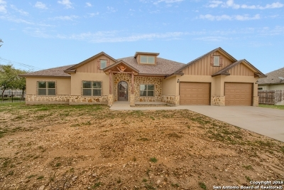 Castroville Single Family Home Back on Market: 116 Westheim Dr