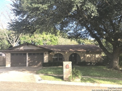 San Antonio Single Family Home New: 8702 Bridington