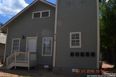 San Antonio Multi Family Home New: 816 Rivas St