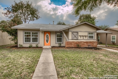 San Antonio Single Family Home New: 1722 Montview