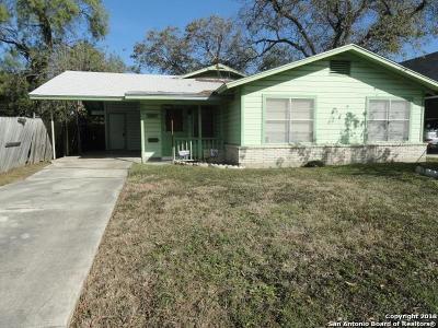 San Antonio Single Family Home New: 1127 W Lullwood Ave