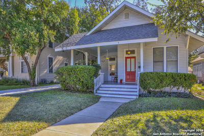 San Antonio Single Family Home New: 430 W Magnolia Ave