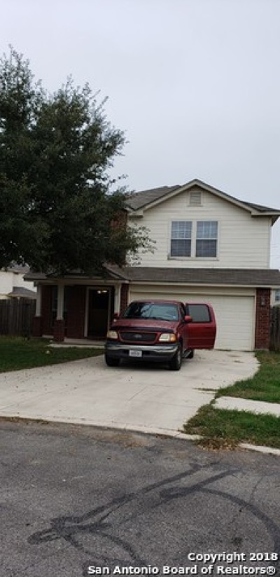 Bexar County Single Family Home New: 3623 Dunlap Fields