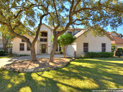 Bexar County Single Family Home New: 18335 Edwards Bluff