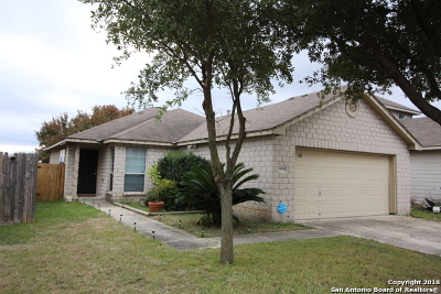 Bexar County Single Family Home New: 8618 Harvest Moon