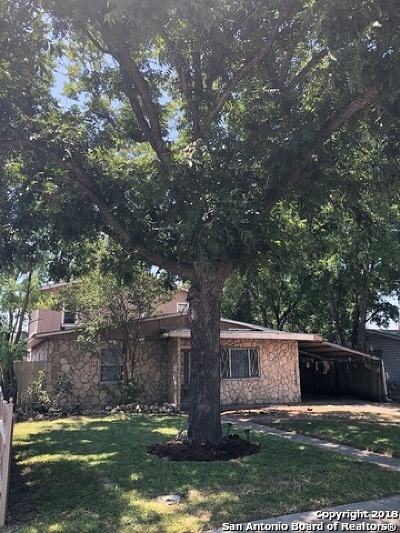 San Antonio TX Single Family Home New: $123,000
