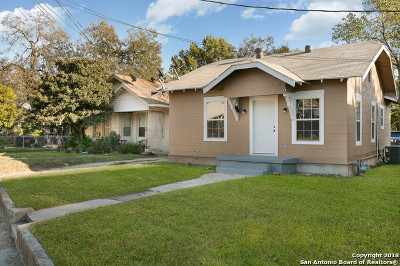 San Antonio TX Single Family Home New: $89,000