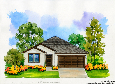 San Antonio TX Single Family Home New: $285,990