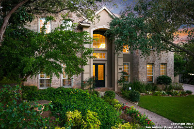 San Antonio Single Family Home New: 18006 Bullis Hill