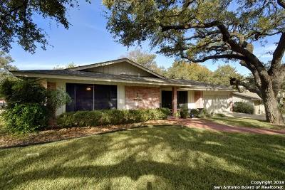 San Antonio Single Family Home New: 11311 Mystery Dr