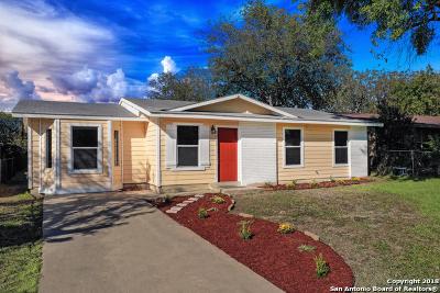San Antonio Single Family Home New: 5411 San Benito Dr