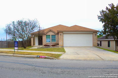 Cibolo Single Family Home Active Option: 100 Kaylee Chase