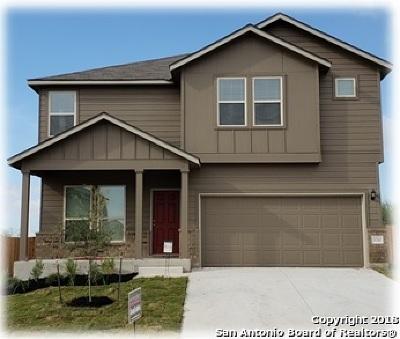 San Antonio Single Family Home New: 3710 Seco Tierra