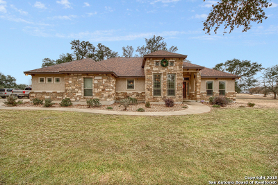 La Vernia TX Single Family Home New: $615,000