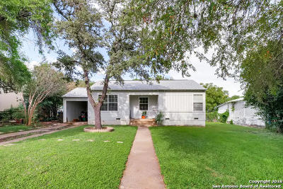 San Antonio Single Family Home New: 811 Lee Hall
