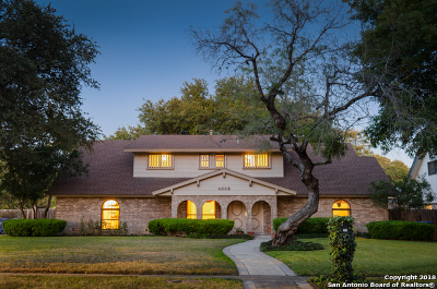 Single Family Home For Sale: 4203 Burnt Ridge
