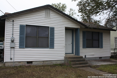 San Antonio Single Family Home New: 111 Piegan St