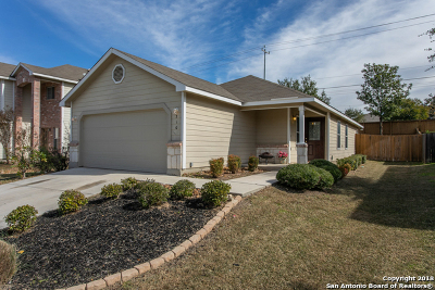 Bexar County Single Family Home Active Option: 310 Prato Brezza