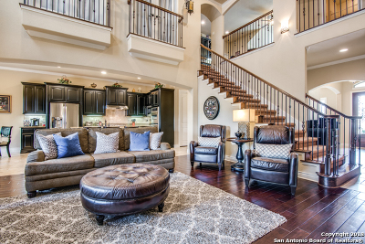 Heights At Stone Oak Single Family Home For Sale: 318 Evans Oak Ln