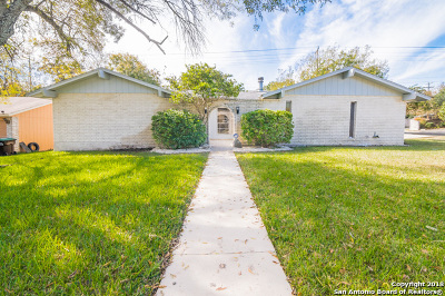 San Antonio Single Family Home New: 6526 Halter Ln
