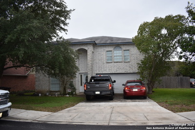 San Antonio Single Family Home New: 3633 Candleknoll Circle
