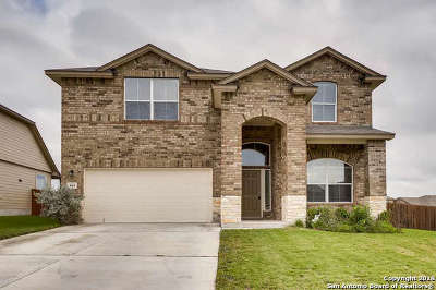 Cibolo Single Family Home Price Change: 404 Quarter Mare