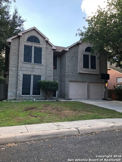 San Antonio Single Family Home New: 1211 Reawick Dr