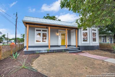 San Antonio Single Family Home Back on Market: 630 Sherman
