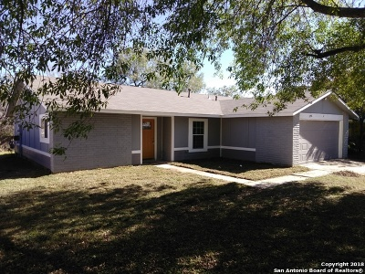 San Antonio Single Family Home Active Option: 8906 Portside St
