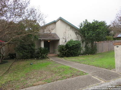 San Antonio Single Family Home New: 11915 Bammel