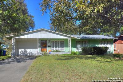 San Antonio Single Family Home New: 375 Astoria Dr
