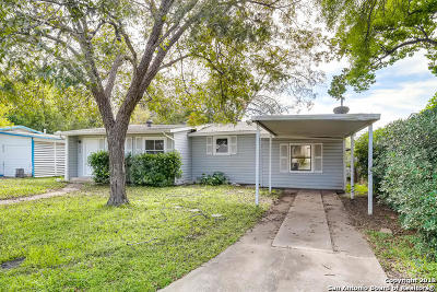 San Antonio Single Family Home New: 330 Olney Dr