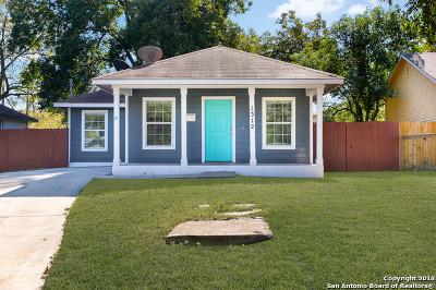 San Antonio Single Family Home New: 1312 Dawson St