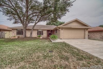 San Antonio Single Family Home New: 13926 Sunny Glen