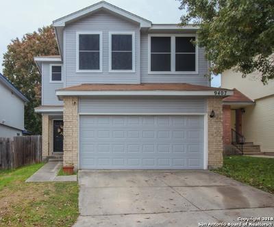 San Antonio Single Family Home New: 9407 Gillcross Way
