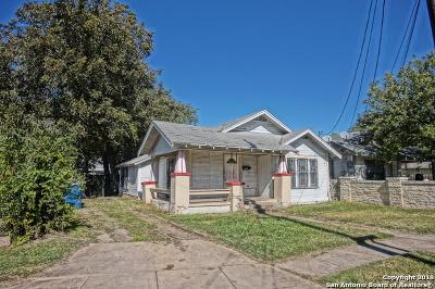 San Antonio Single Family Home New: 217 Oriental Ave