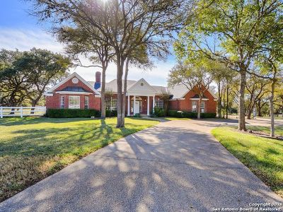 Fair Oaks Ranch Single Family Home For Sale: 7820 Silver Spur Trail