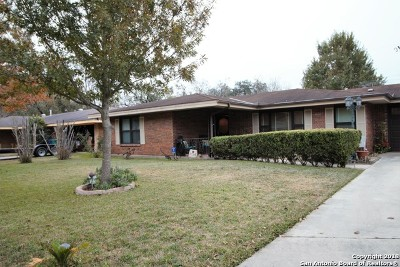 San Antonio TX Single Family Home New: $167,000