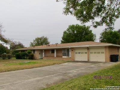 San Antonio Single Family Home New: 902 McNeel Rd
