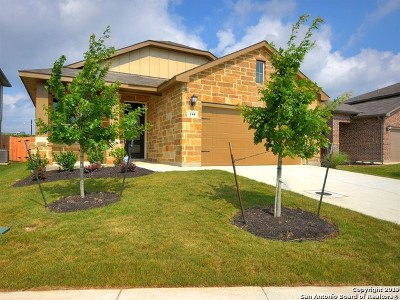 Boerne TX Single Family Home New: $274,990