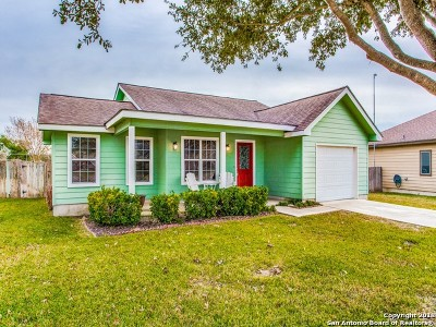 Floresville Single Family Home Price Change: 1121 Iris Crescent Dr