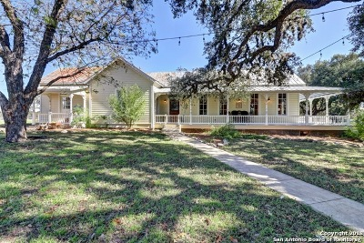 Bulverde Single Family Home For Sale: 30198 Blanco Rd