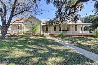 Comal County Farm & Ranch For Sale: 30198 Blanco Rd