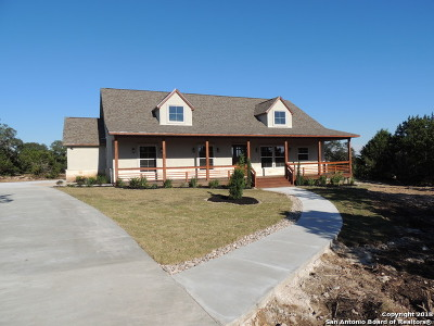 Spring Branch Single Family Home For Sale: 345 Warbler Dr